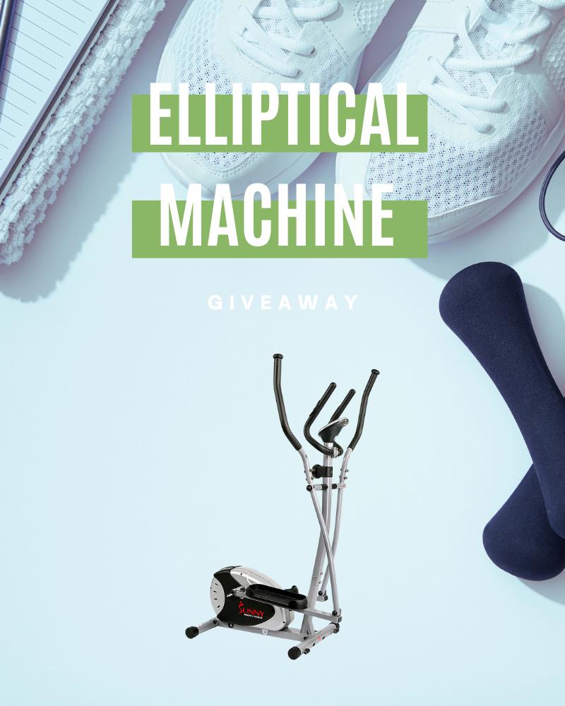 Elliptical Machine GiveawayEnds in 48 days.