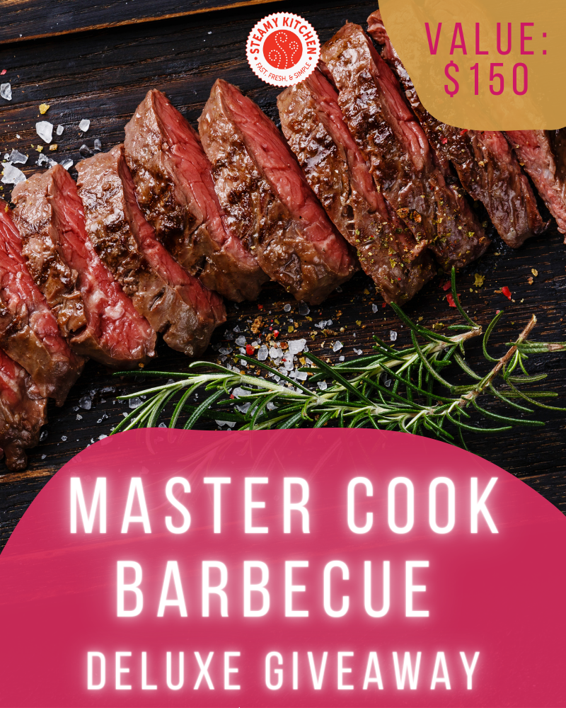 Master Cook Barbecue Giveaway
