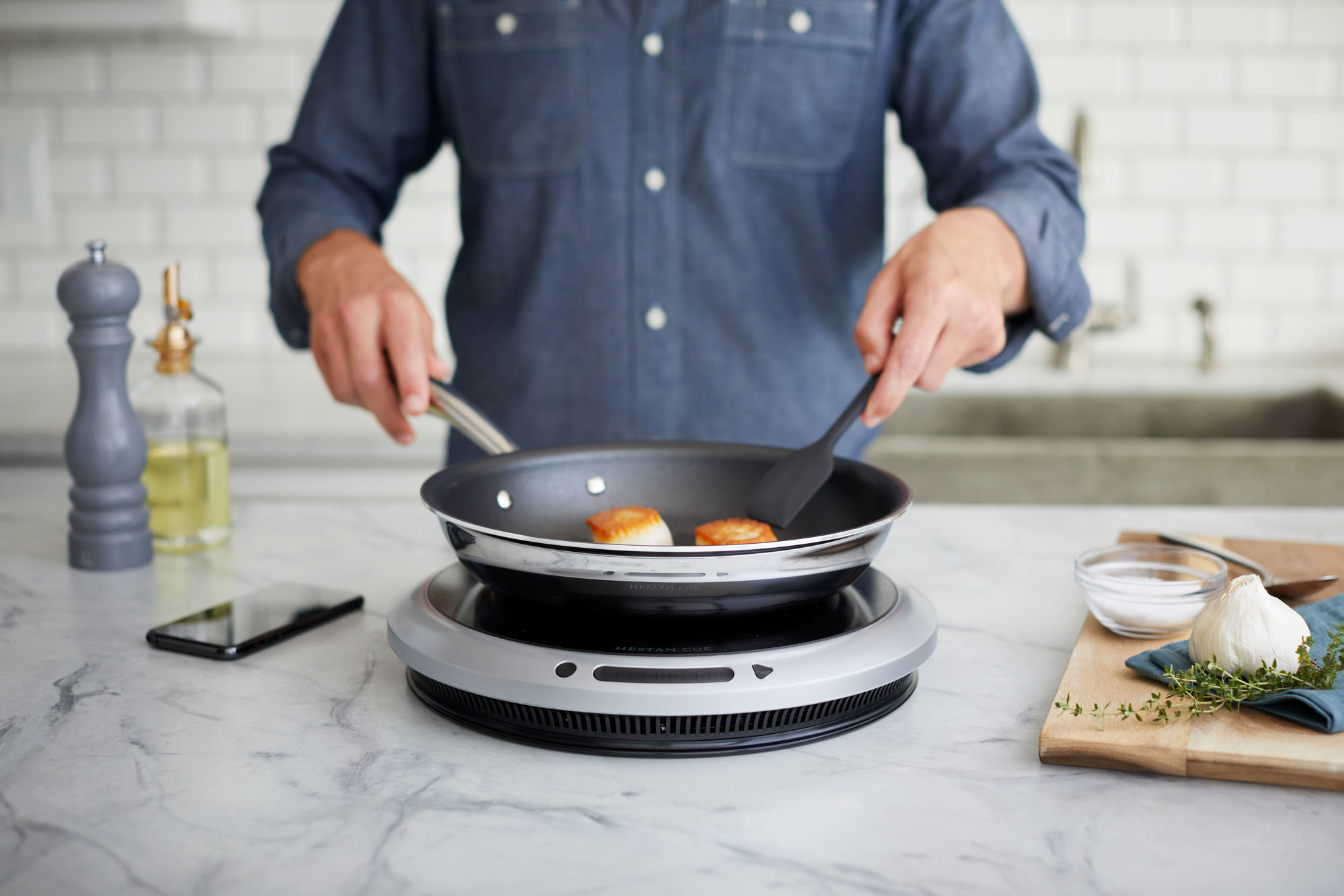 Cooking with Hestan Cue Connected Cookware System