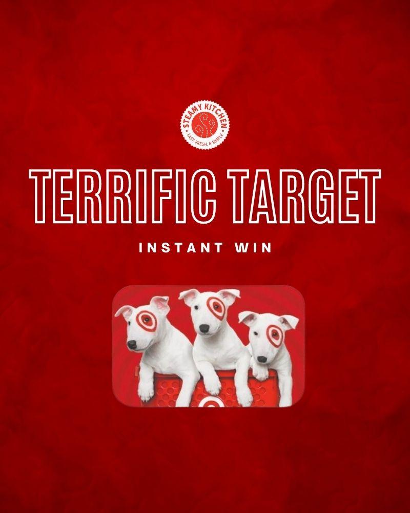 Terrific Target Instant Win GameEnds in 85 days.