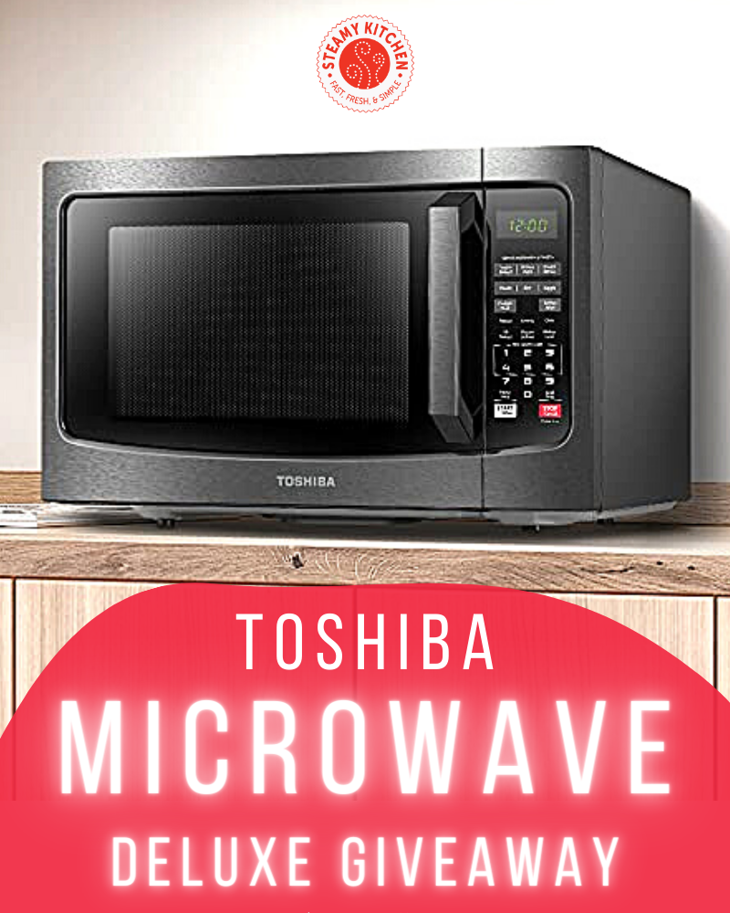 Toshiba Microwave GiveawayEnds in 82 days.