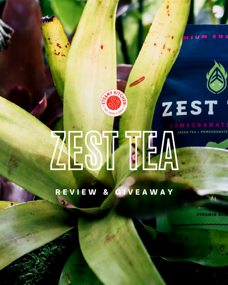 Zest Energy Tea Review and GiveawayEnds in 90 days.