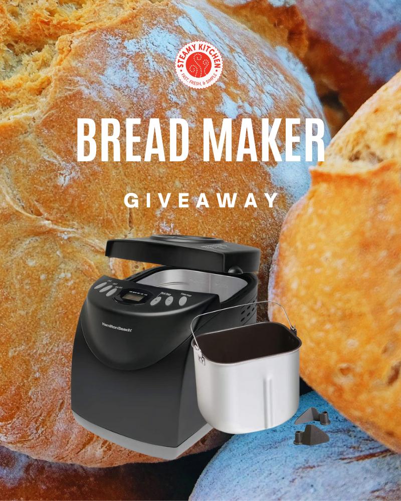Bread Maker GiveawayEnds in 76 days.