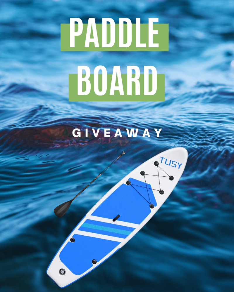 Paddle Board GiveawayEnds in 76 days.