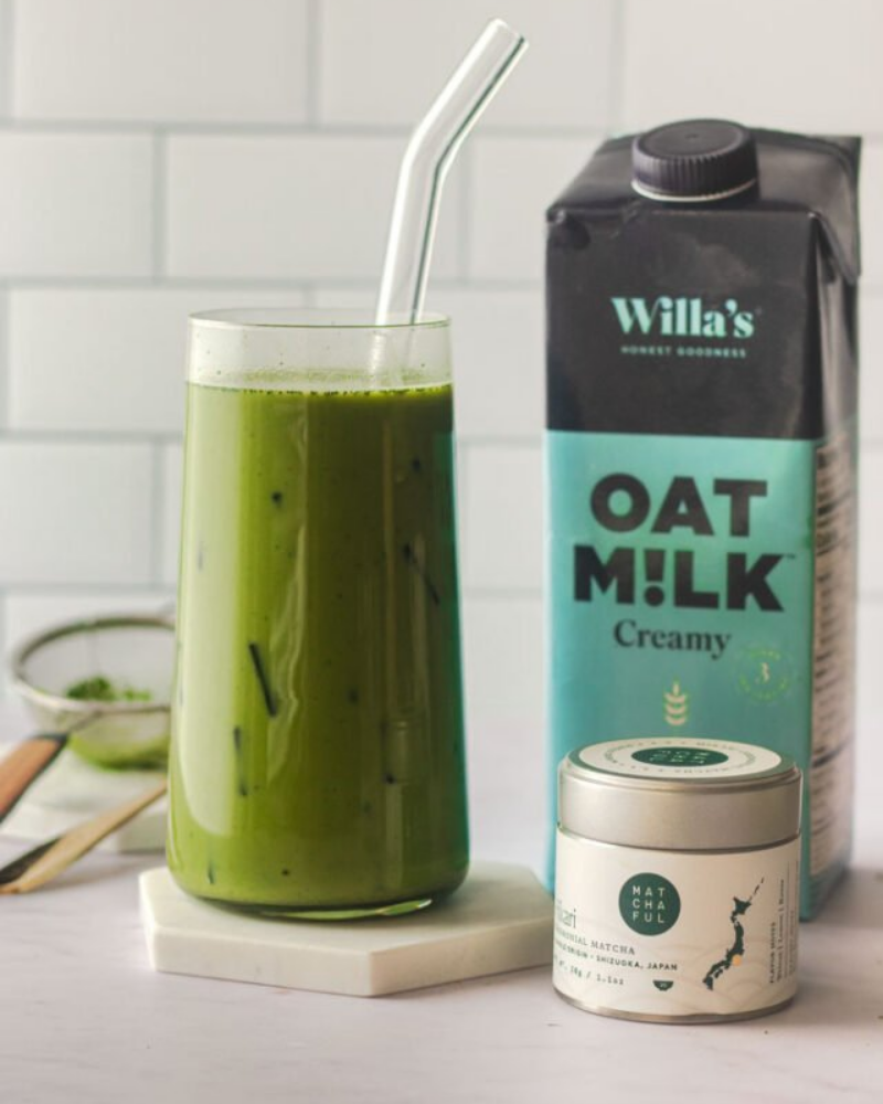 Willas Organic Oat Milk x Matchaful Review and GiveawayEnds in 28 days.