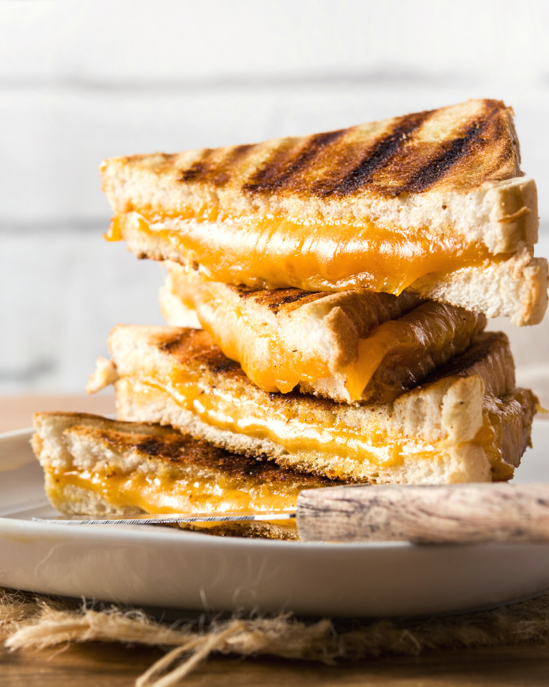 Grilled Cheese in the Microwave