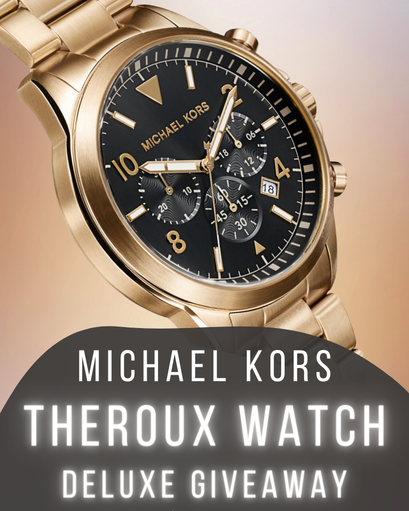 Micheal Kors Luxury Watch GiveawayEnds in 88 days.