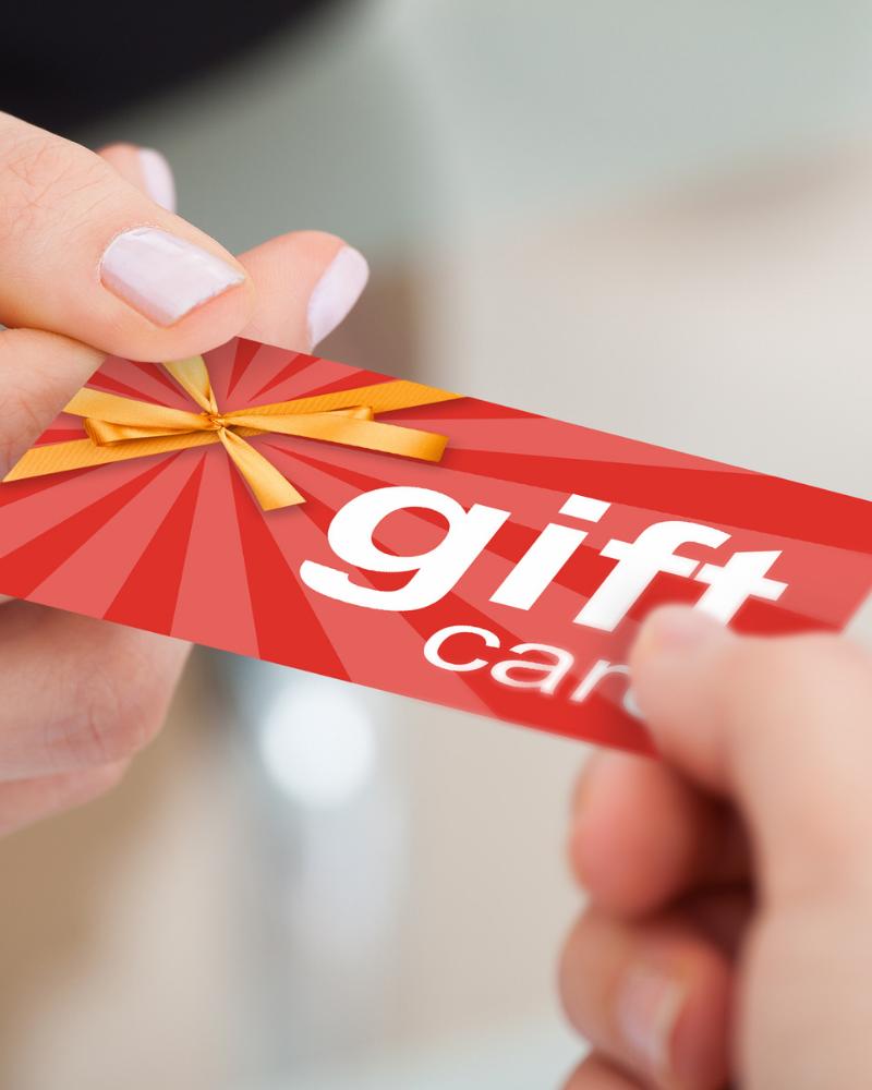 $100 gift card winners choice