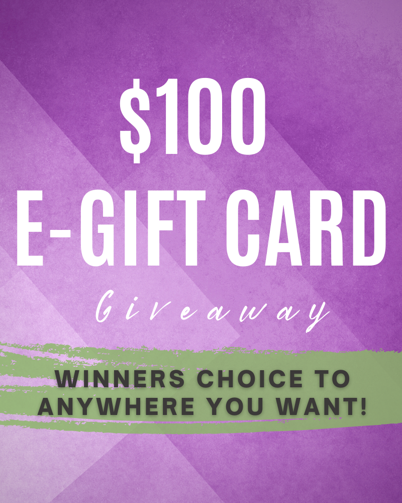 $100 Winners Choice Gift Card GiveawayEnds in 70 days.
