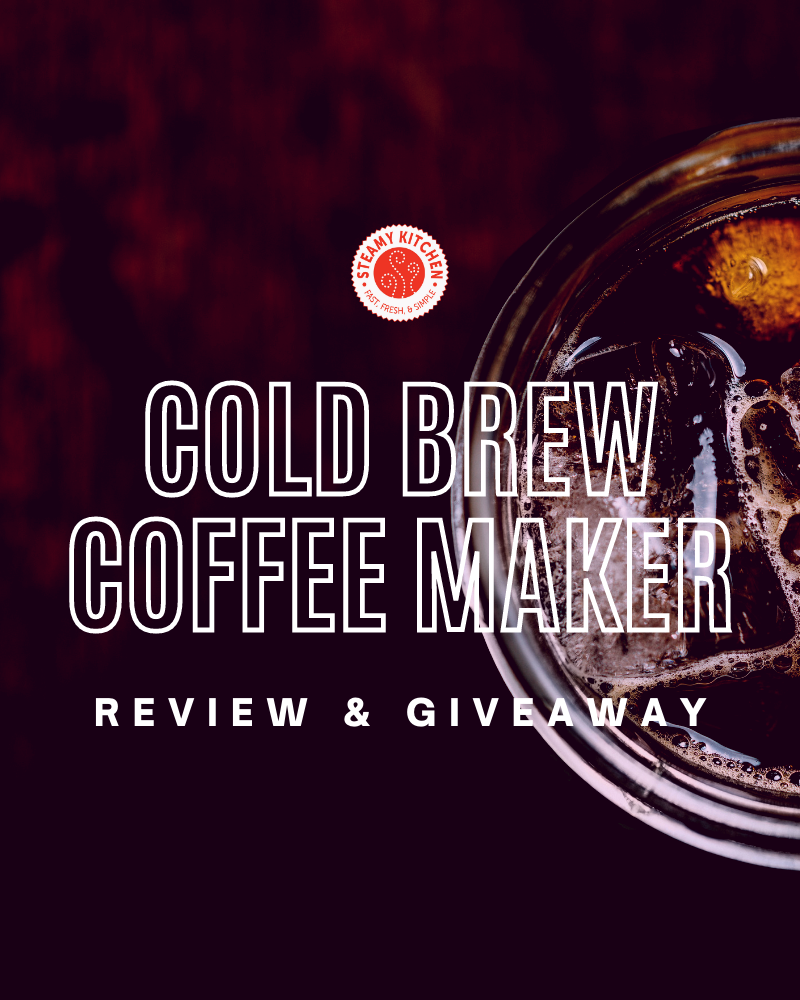 Vinci Cold Brew Maker Review and GiveawayEnds in 88 days.