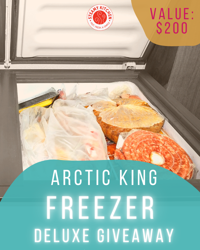 Freezer GiveawayEnds in 12 days.