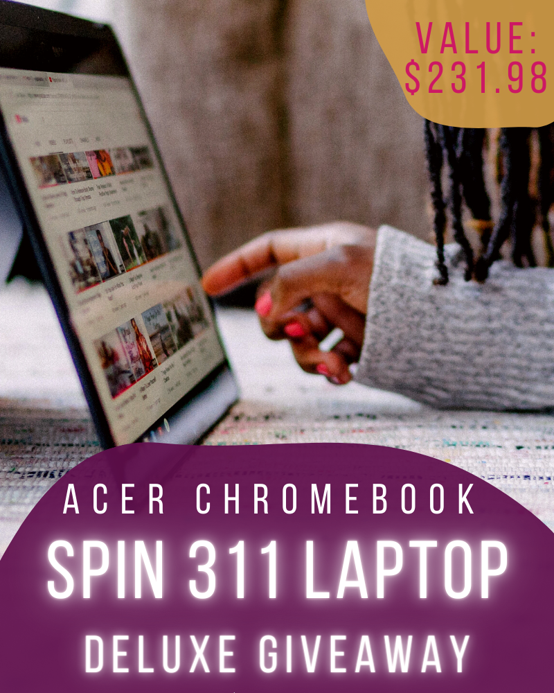 Acer Chromebook Spin 311 GiveawayEnds in 44 days.