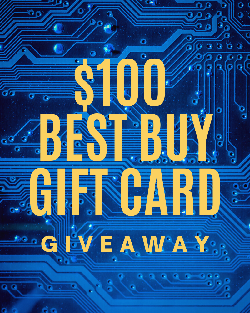 $100 Best Buy Gift Card GiveawayEnds in 63 days.