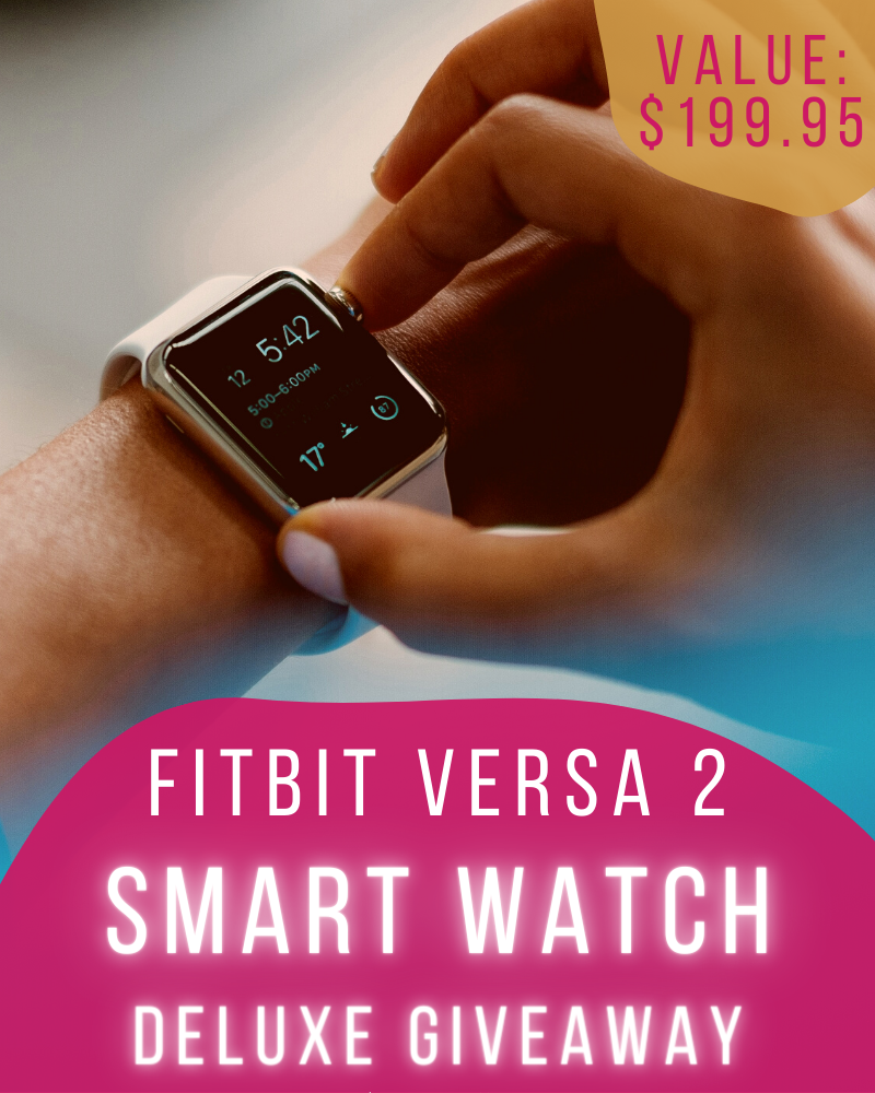 FitBit Versa 2 Smart Watch GiveawayEnds in 61 days.