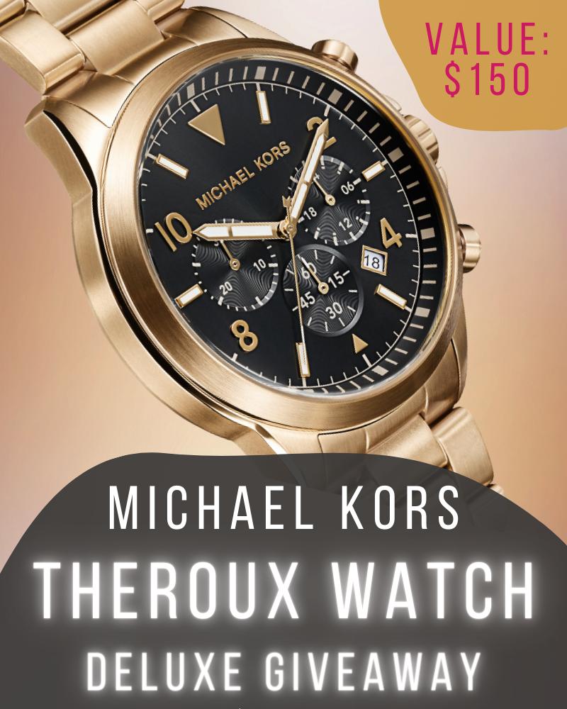 Michael Kors Luxury Watch GiveawayEnds in 12 days.
