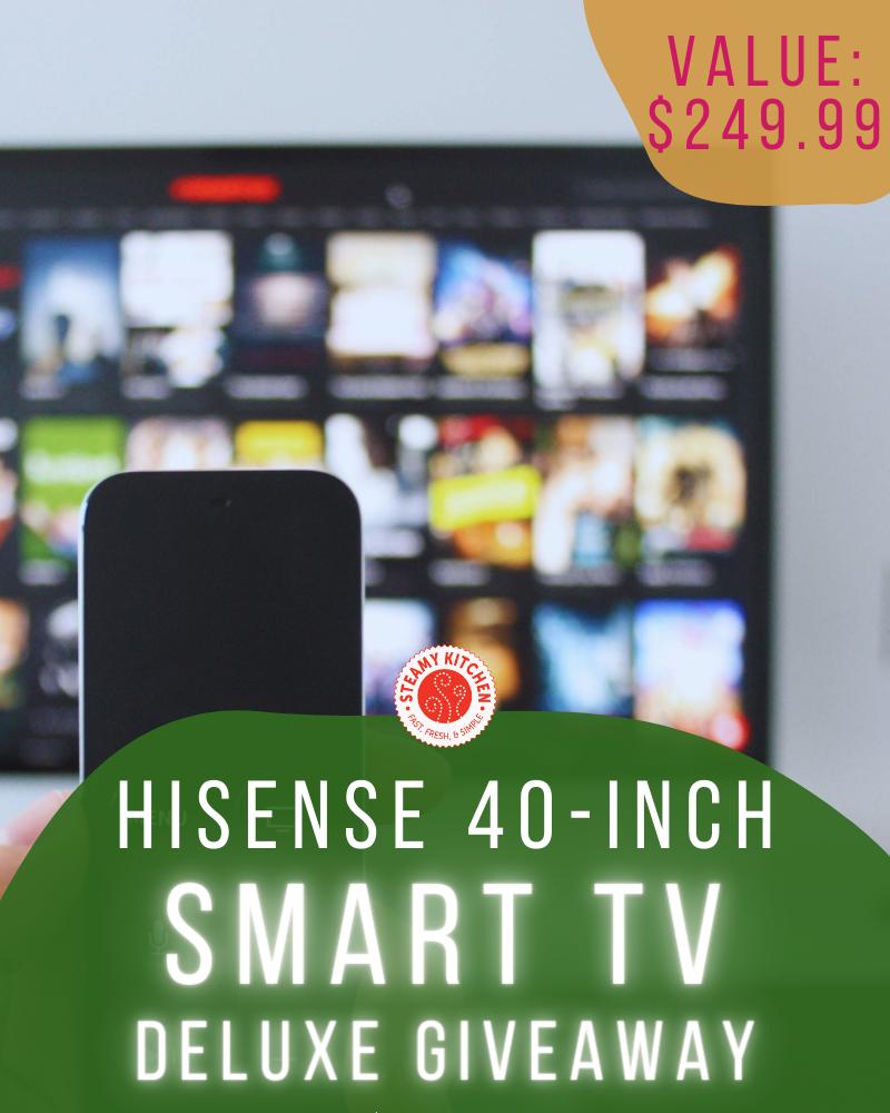 Hi-Sense 40 inch Smart TV Giveaway
