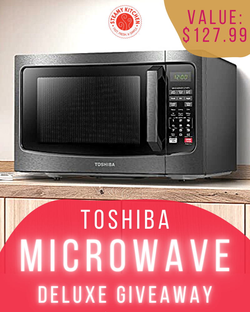 Toshiba Microwave GiveawayEnds in 26 days.