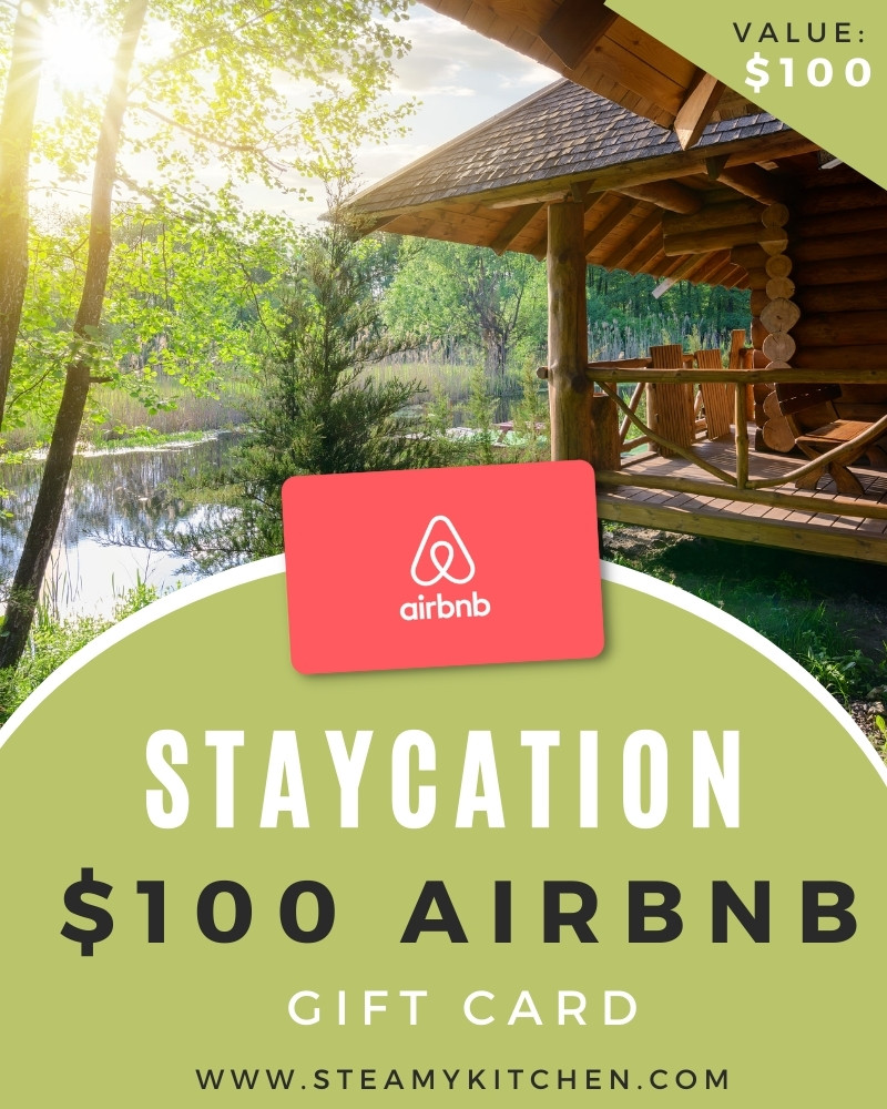 Staycation $100 AirBnB Gift Card Giveaway