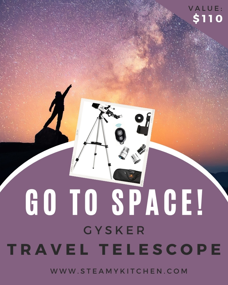 Go To Space! Gskyer Travel Telescope Giveaway