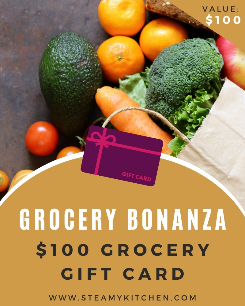 Grocery Bonanza! $100 Grocery Gift Card Giveaway
