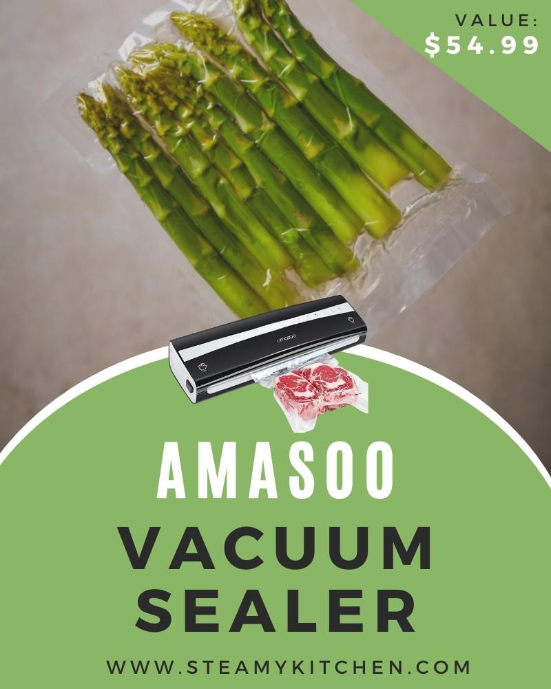 Amasoo Vacuum Sealer Giveaway