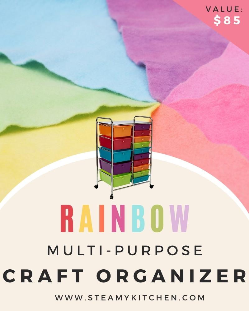 Rainbow Multi Purpose Craft Organizer Giveaway
