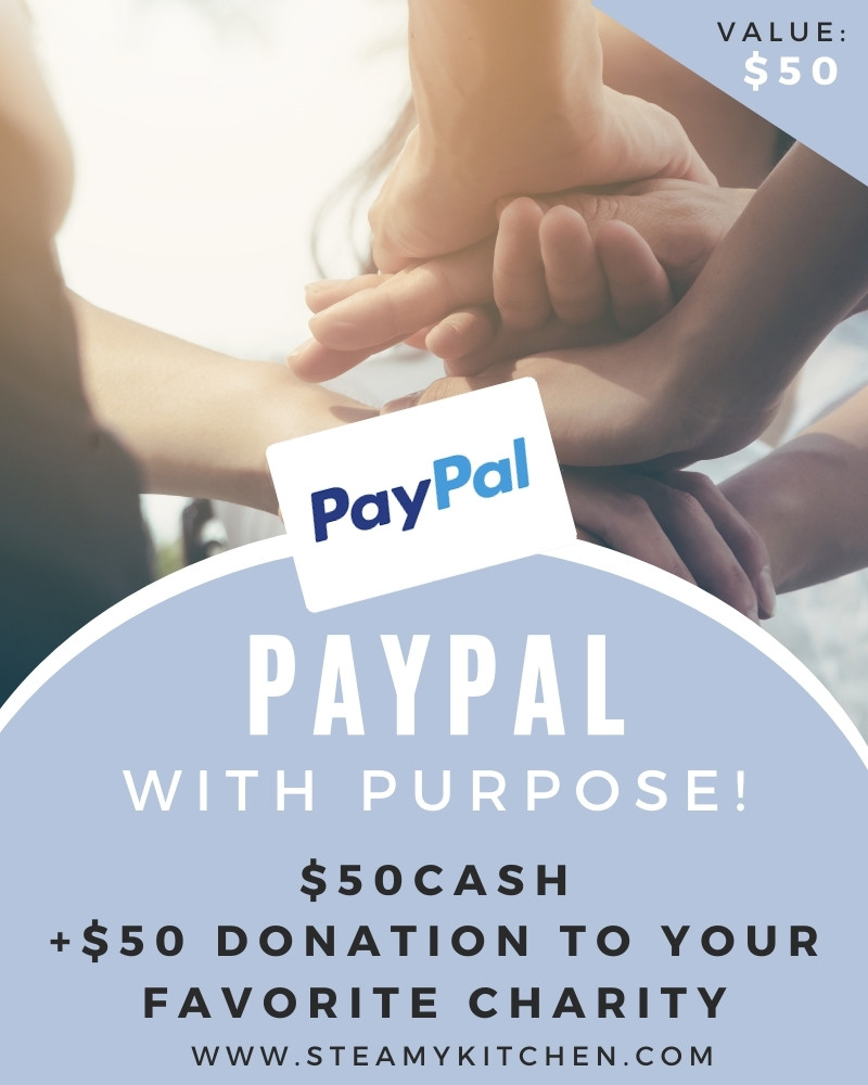 PayPal with Purpose! $100 Gift Card