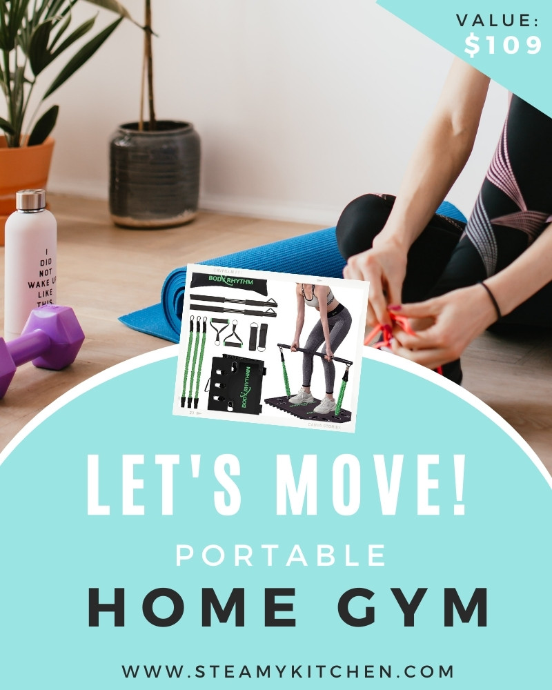 Let's Move! Portable Home Gym Giveaway