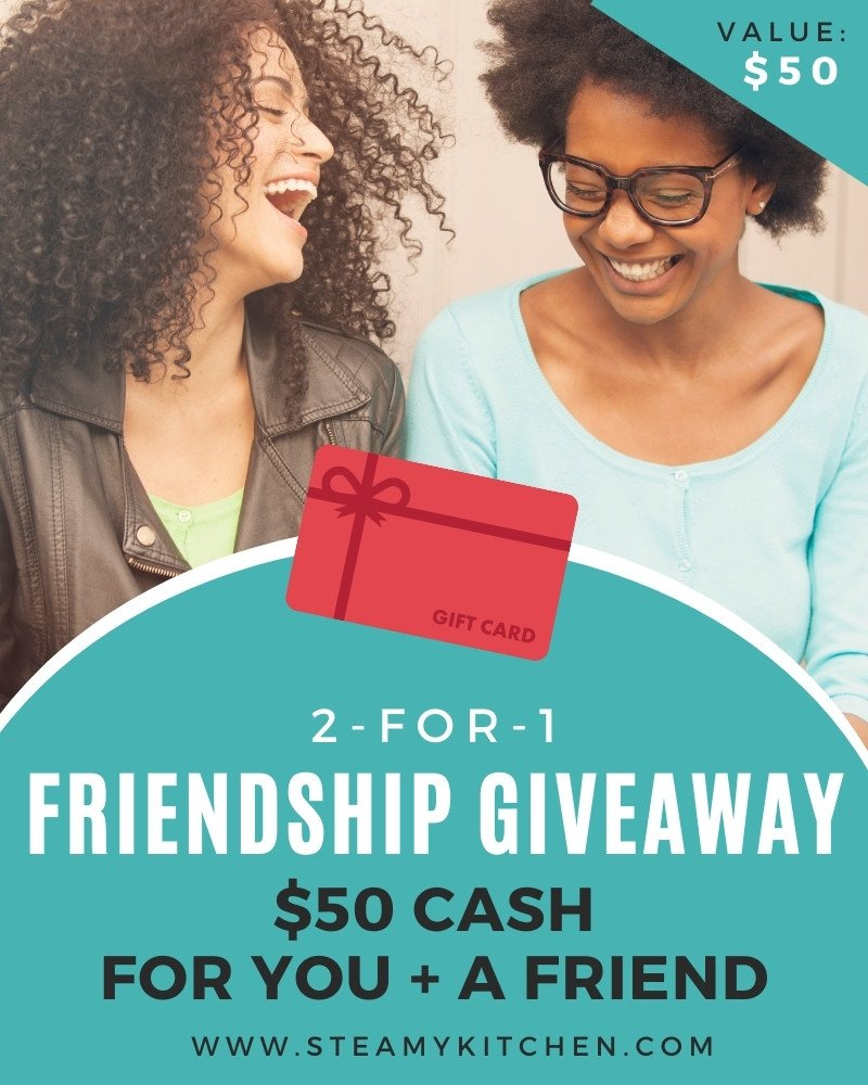 2-for-1 Friendship Giveaway!