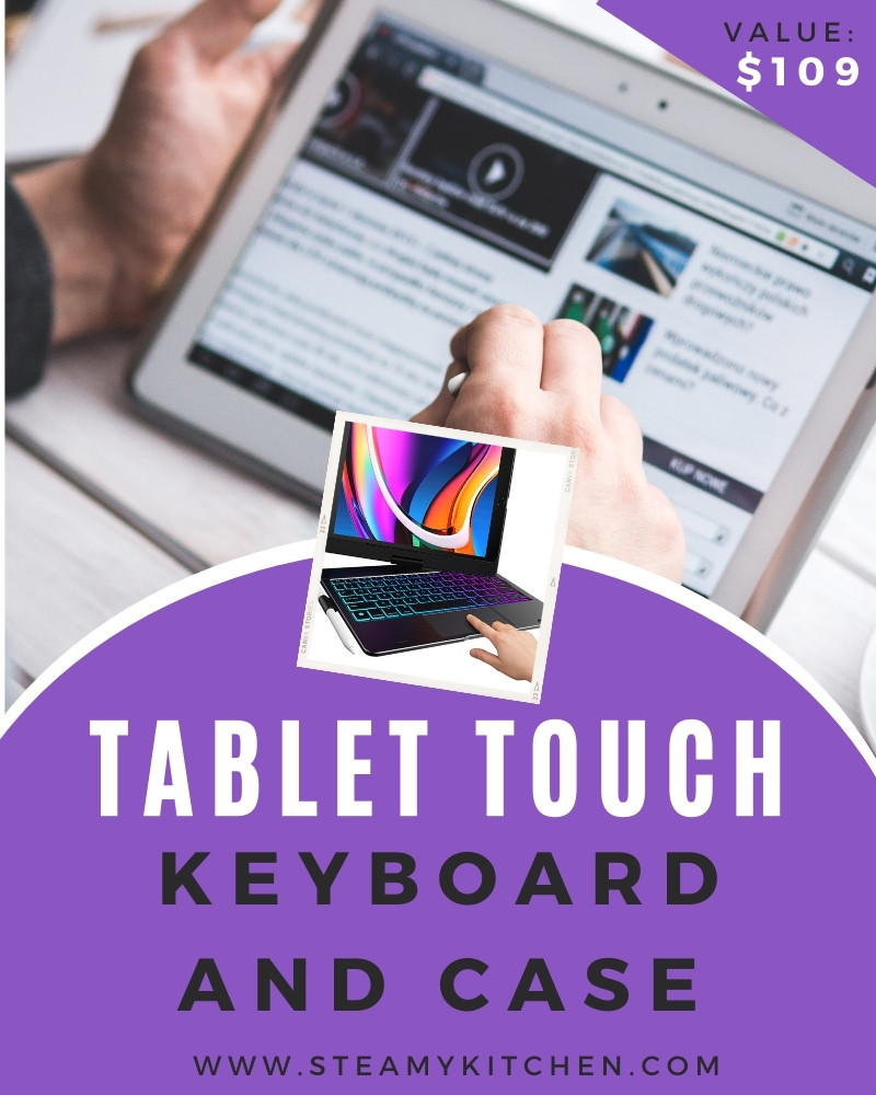 Tablet Touch Keyboard and Case Giveaway