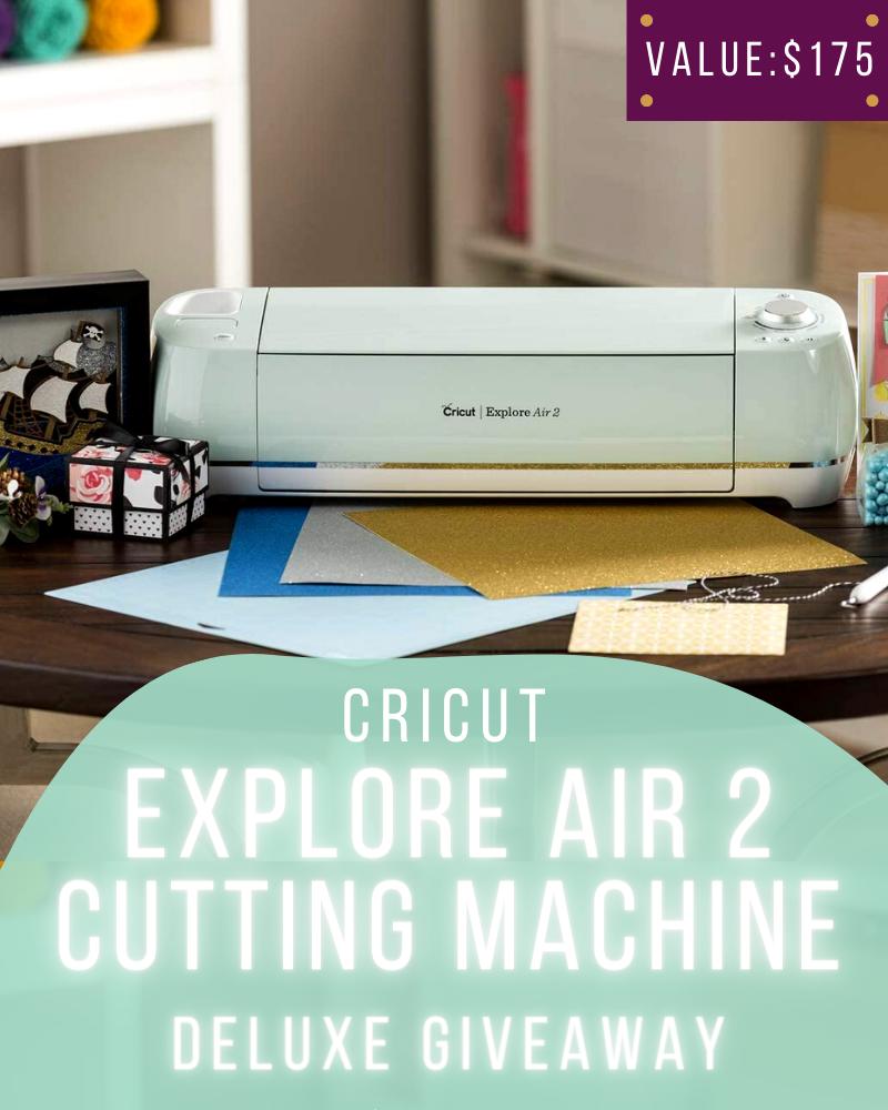 Cricut Explore Air 2 GiveawayEnds in 75 days.