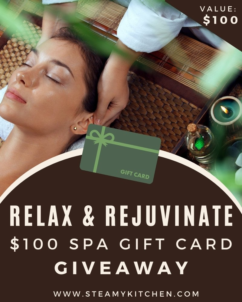 Relax + Rejuvenate: $100 Spa Gift Card Giveaway