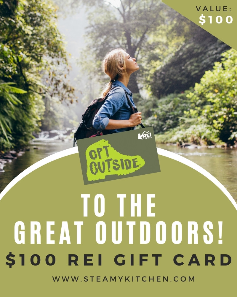 To The Great Outdoors! $100 REI Gift Card