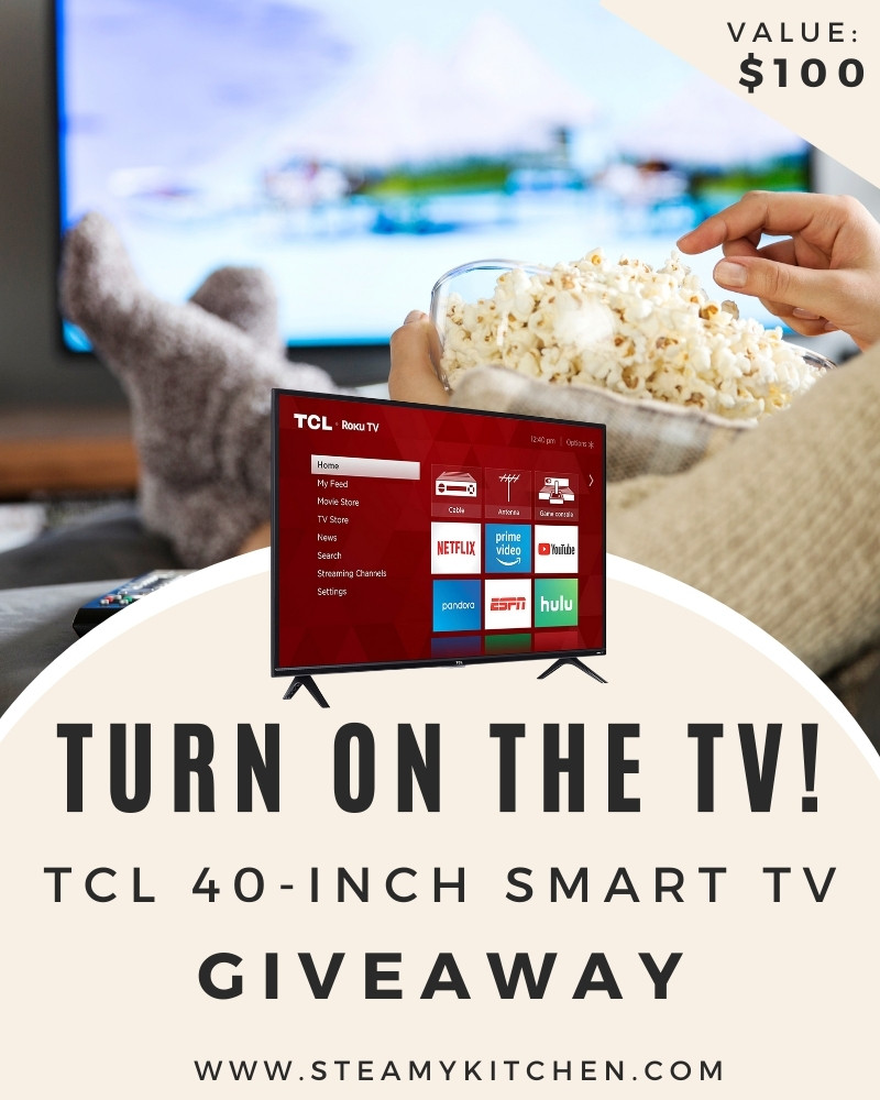 Turn on The TV! TCL 40-Inch Smart TV Giveaway