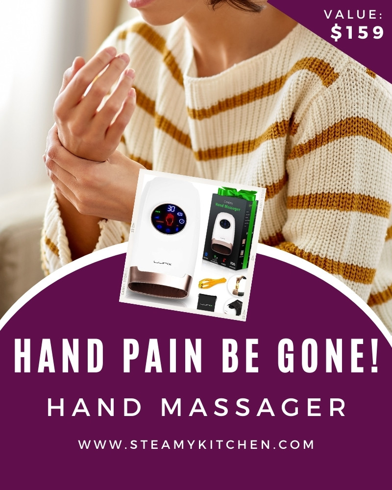Hand Pain Be Gone! Hand Massager Giveaway