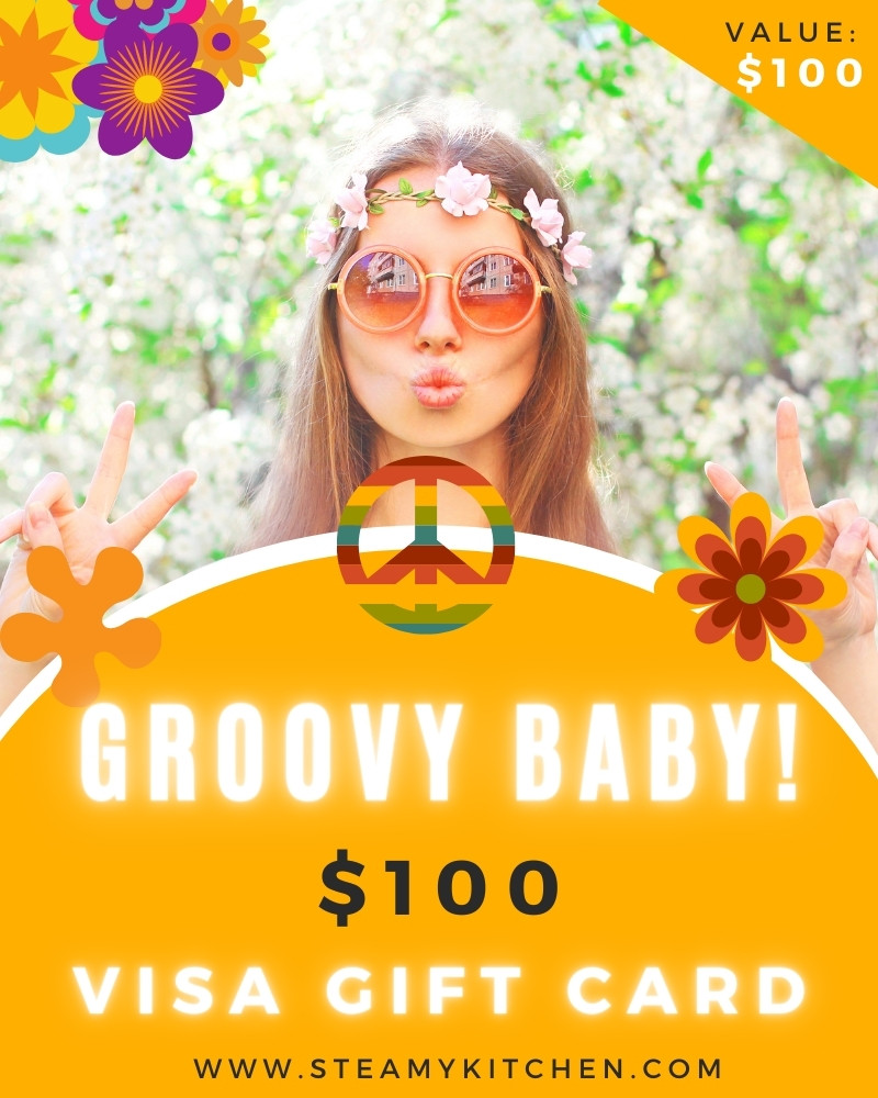 Groovy Baby! $100 Visa Gift Card