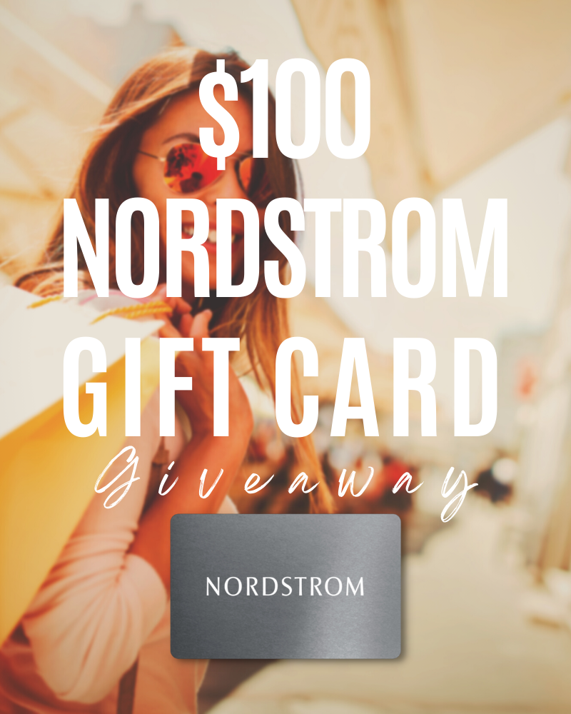 $100 Nordstrom Gift Card GiveawayEnds in 84 days.