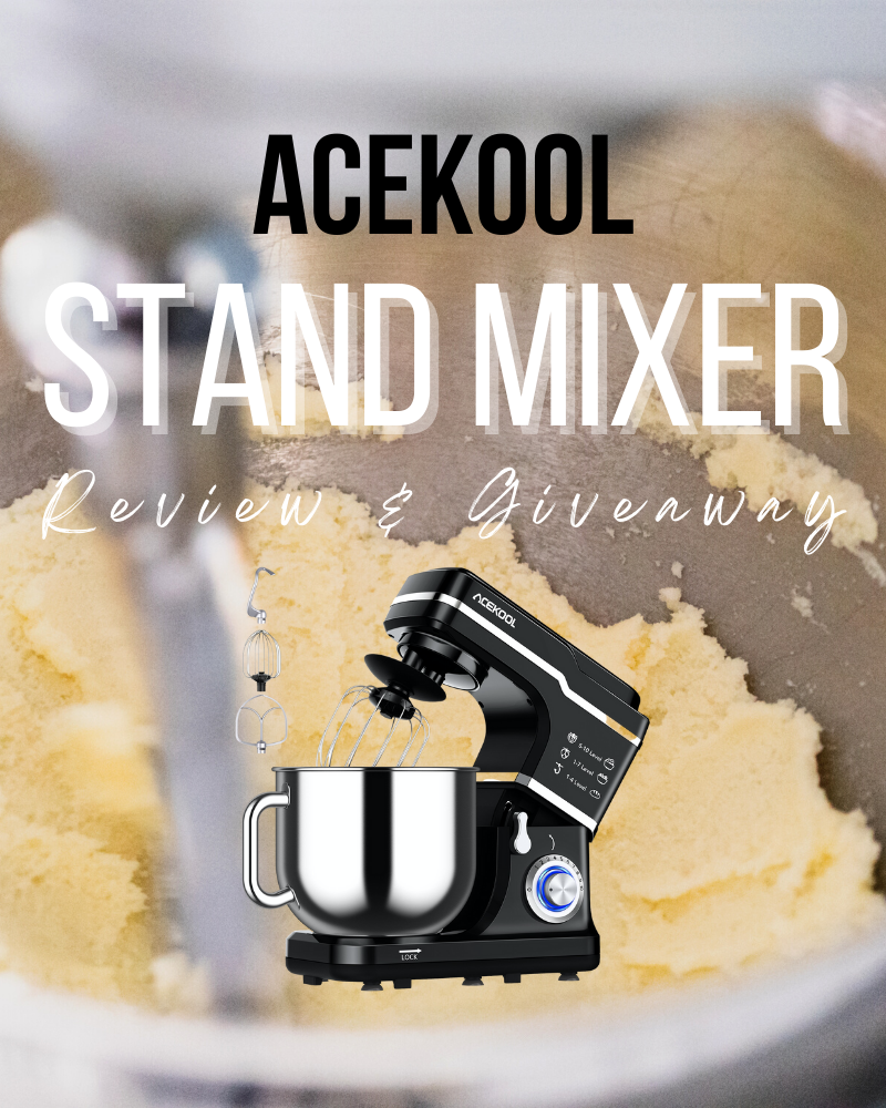 Acekool Stand Mixer Review and Giveaway