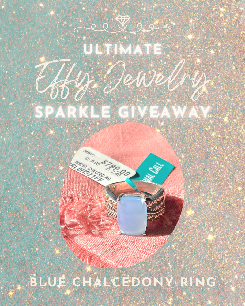Ultimate Effy Jewelry Giveaway: Blue Chalcedony Ring