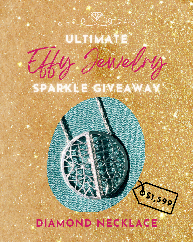 Ultimate Effy Jewelry Giveaway: Silver Diamond Necklace
