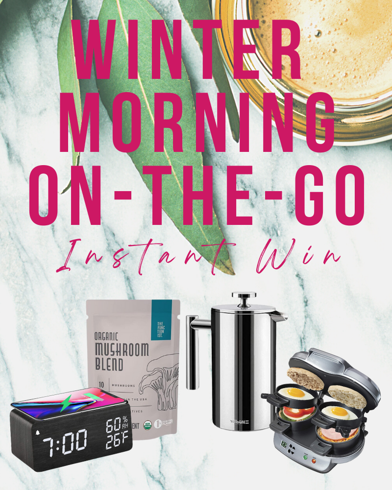 Winter Morning On-the-Go Bundle