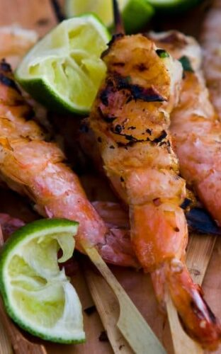 Grilled Shrimp with Lemongrass and Ginger