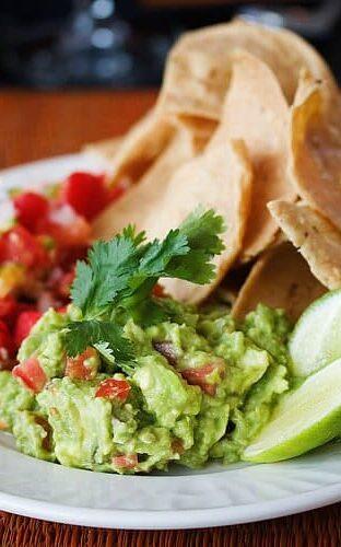 Club Med Salsa Mexicana and Guacamole