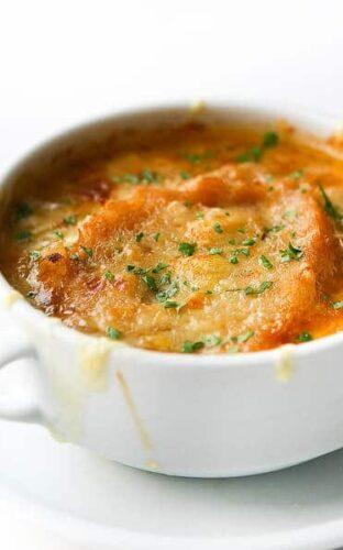 Swiss Onion Soup on TLC
