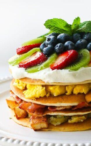 The Ultimate Breakfast Pancake